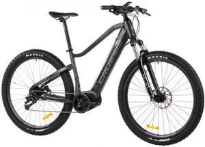 "29 Zoll Elektrofahrrad MTB E-Bike Modell ONE Largo 7.6-S CRUSSIS 2021 630Wh 17,5Ah 80Nm 250W Pedelec Rahmenhöhe 20"" (51 cm) Schwarz/Matt"