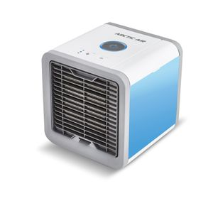 Arctic Air mobiler Luftkühler mit USB Anschluß und Netzstecker Luftbefeuchter und Erfrischung 3 Kühlstufen - 7 Stimmungslichter Das Original von Mediashop