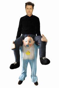 Huckepack Kostüm - Mann auf Baby - Wilbers Gr. M/L - Hucke Pack
