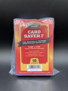 Cardboard Gold 50x Card Saver 1 | Hüllen für's Grading Pokémon PSA | since 1987