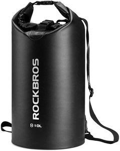 ROCKBROS Dry Bag Tasche Wasserdicht Packsack Seesack 30L Schwarz