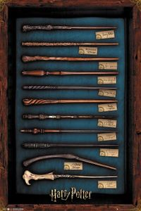 GBeye Harry Potter Wands Poster 61x91.5cm.