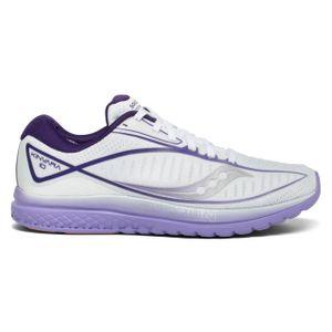 Saucony Damen Laufschuhe Kinvara 10 White / Purple 38,5