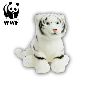 WWF Plüschtier Weißer Tiger (30cm) lebensecht Kuscheltier Stofftier Raubkatze