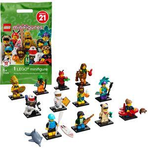LEGO 71029 Minifiguren Serie 21, sammelbares Spielzeug (1 von 12 zum Sammeln) für 5-Jährige