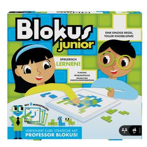 Mattel Games Blokus Junior, Kinderspiel, Gesellschaftsspiel, Strategiespiel