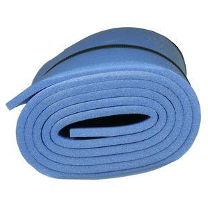 10T Profoma 180 - Iso-Matte Trekkingmatte PE-Schaum aufrollbar blau 180x50x0,8cm