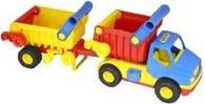WADER ConsTruck Muldenkipper mit Kippanhänger Kipper Lastwagen LKW bunt