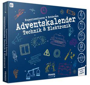 Franzis Adventskalender Experimentieren & Entdecken Experimentierkasten