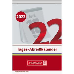 BRUNNEN Tagesabreißkalender 1070304002 6,5x10cm Nr.4