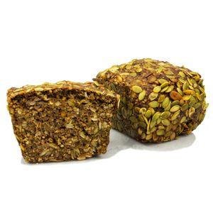 Vestakorn Hafervollkornbrot mit Saaten 500g - Handwerksbrot ohne Weizen, ohne Mehlzusatz und ohne Hefe