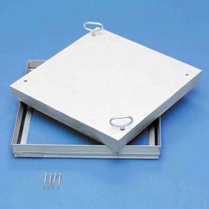 ZARGES Schachtabdeckung Stahl verzinkt 635x635 mm