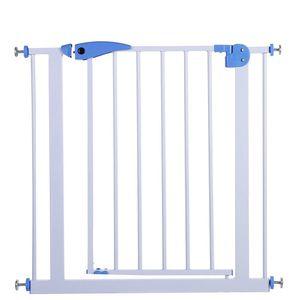 Treppengitter 65 -75 cm BabySafe Treppenschutzgitter ohne Bohren Türgitter Absperrgitter