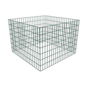yocmall Gartenkomposter Quadratmaschen 100 x 100 x 70 cm