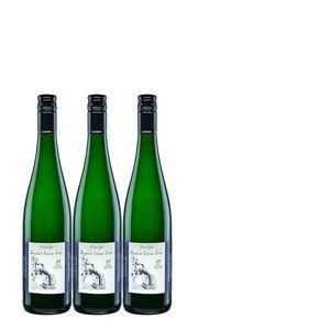 Weißwein Mosel Riesling WeinGut Benedict Loosen Erben Auslese süß vegan (3x0,75l)