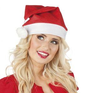 Boland weihnachtsmütze rot/weiß