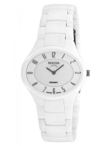 Boccia Uhr - Damen Titanuhr mit Keramik und Saphirglas - 3216-01