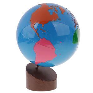 Montessori Weltkugel Globus Geographie Kinder Lernspielzeug Geschenk