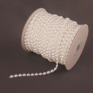 25 Meter Perlenband Perlengirlande Perlenvorhang Perlenschnur Dekokette DIY Handwerk