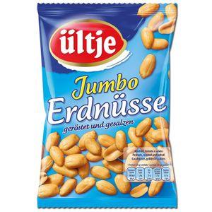 Ültje Jumbo Erdnüsse, geröstet und gesalzen, 200g Beutel