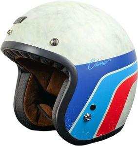 Origine Primo Classic Jethelm Farbe: Weiß/Rot/Blau, Grösse: XL (61/62)