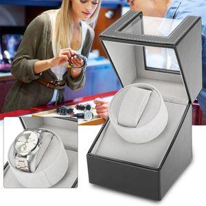 Automatisch Uhrenbeweger Uhrenbox Watchwinder Winder Kubus Uhrenkasten 12*13*16cm Für 1 Uhre