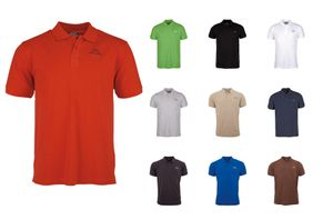 Kappa Peleot Herren Polo-Shirt Rot , Größenauswahl:L