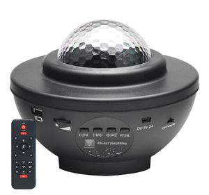LED Sternenhimmel Projektor, Music Sternenlicht Projektor Projektionslampe Fernbedienung/Bluetooth/Timer/Lautsprecher, Kinder Ozeanwellen