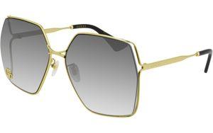 Gucci Sonnenbrillen GG0817S 006 Silber Damen