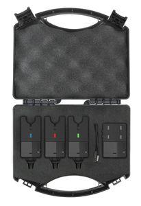 Spro C-Tec Run Alarm 3+1 Funk-Bissanzeiger Set im Koffer