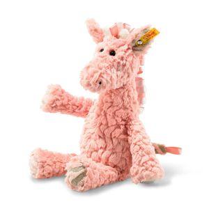 Steiff 068126 Soft Cuddly Friends Giselle Giraffe   20 cm rose