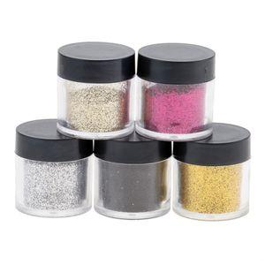 5 Stück Glitter Pulver , 1-5 # wie beschrieben