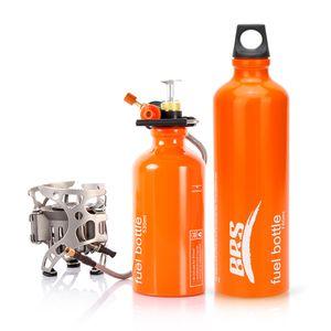 BRS Campingkocher mit 750ml Kraftstoffflasche Camping Gaskocher Tragbar Gasbrenner Outdoor