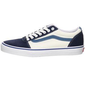VANS Herren Sneaker Sneaker Low Leder-/Textilkombination blau 46