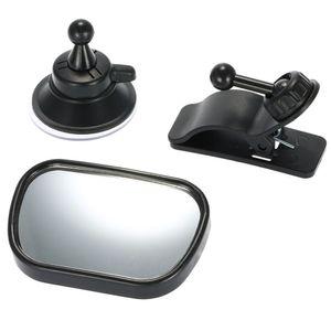 Tirol T22614 Mini Auto Baby View 2 in 1 Auto hinten Baby Sicherheit konvexe Spiegel verstellbar