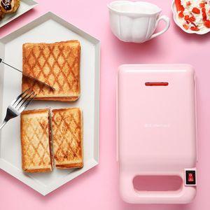 Mini Antihaft Frühstück Hamburger Sandwich Maker Maschine - Rosa