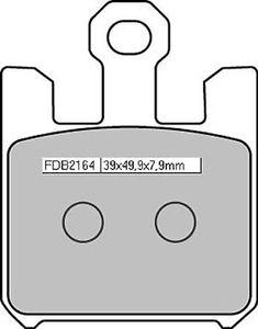 Ferodo 586-164 Ferodo Sinterbelag FDB 2164 ST 4 Beläge / Satz