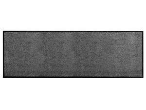 Küchen-Läufer Vorleger CLEAN - Anthrazit - 60x180cm, Rutschfester Schmutzfang-Teppich für die Küche und Flur