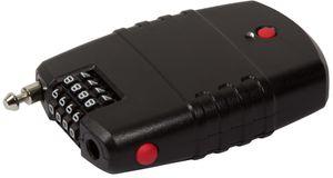 LogiLink Universal-Kabelschloss mit Alarm schwarz