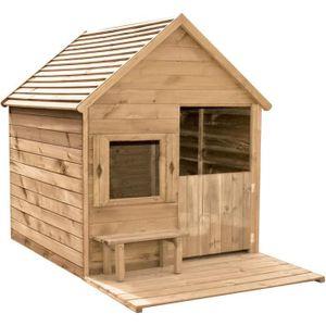 HEIDI Holzhütte für Kinder