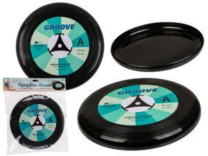2 Stück Frisbee Schallplatte / Wurfscheibe / Platte zum werfen LP Look 25 cm