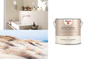 Alpina 2,5 L. Feine Farben - No.8 Elegante Gelassenheit - Ruhiges Hellbeige - Edelmatte Wandfarbe für Innen