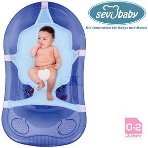Baby BadeNetz Multi-Funktionales Waschnetz Badesitz Sevibaby Badewannensitz BLAU 8697-1