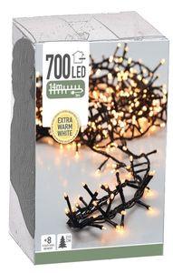 Home & Styling lichtschnur extra warmweiß 700 leds 14 m grün