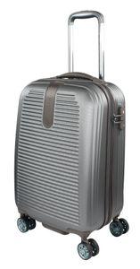 Traveller Hartschalenkoffer Rom S Grau-Braun