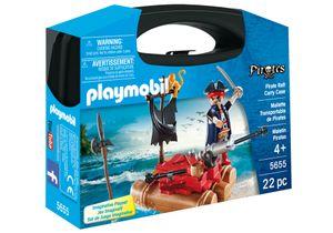PLAYMOBIL Pirates Pirate Raft Carry Case, Junge, 4 Jahr(e), Mehrfarben, Kunststoff