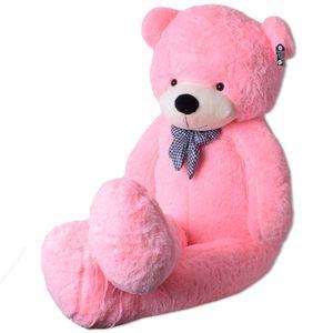 XXL Riesen Teddybär Kuschelbär Kuscheltier Riesen Plüschtier Bär 200cm Rosa Pink