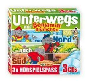 Benjamin Blümchen - 3er-CD Unterwegs mit Benjamin