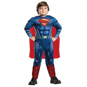 Rubies - Jungen Superman-Kostüm - Deluxe-Version - Superheld - L