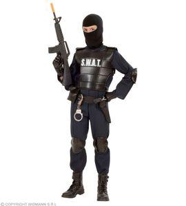 S. W. A. T. Undercover Officer SWAT Polizist Männer  + Kinder Special Agent M - 140 cm